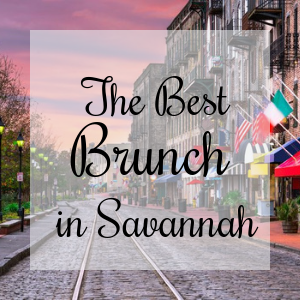 The best brunch spots in Savannah ga