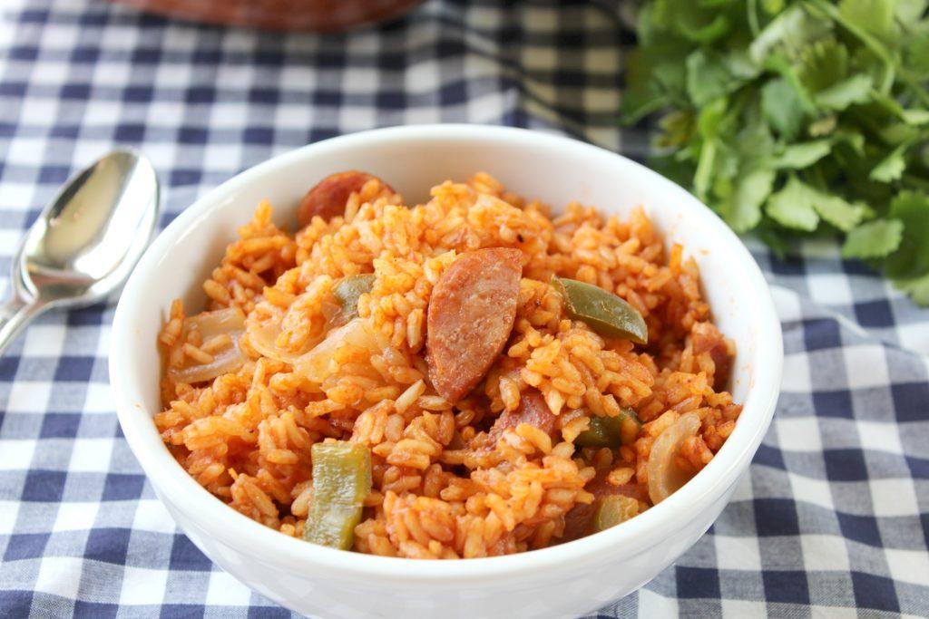 Red rice & sausage