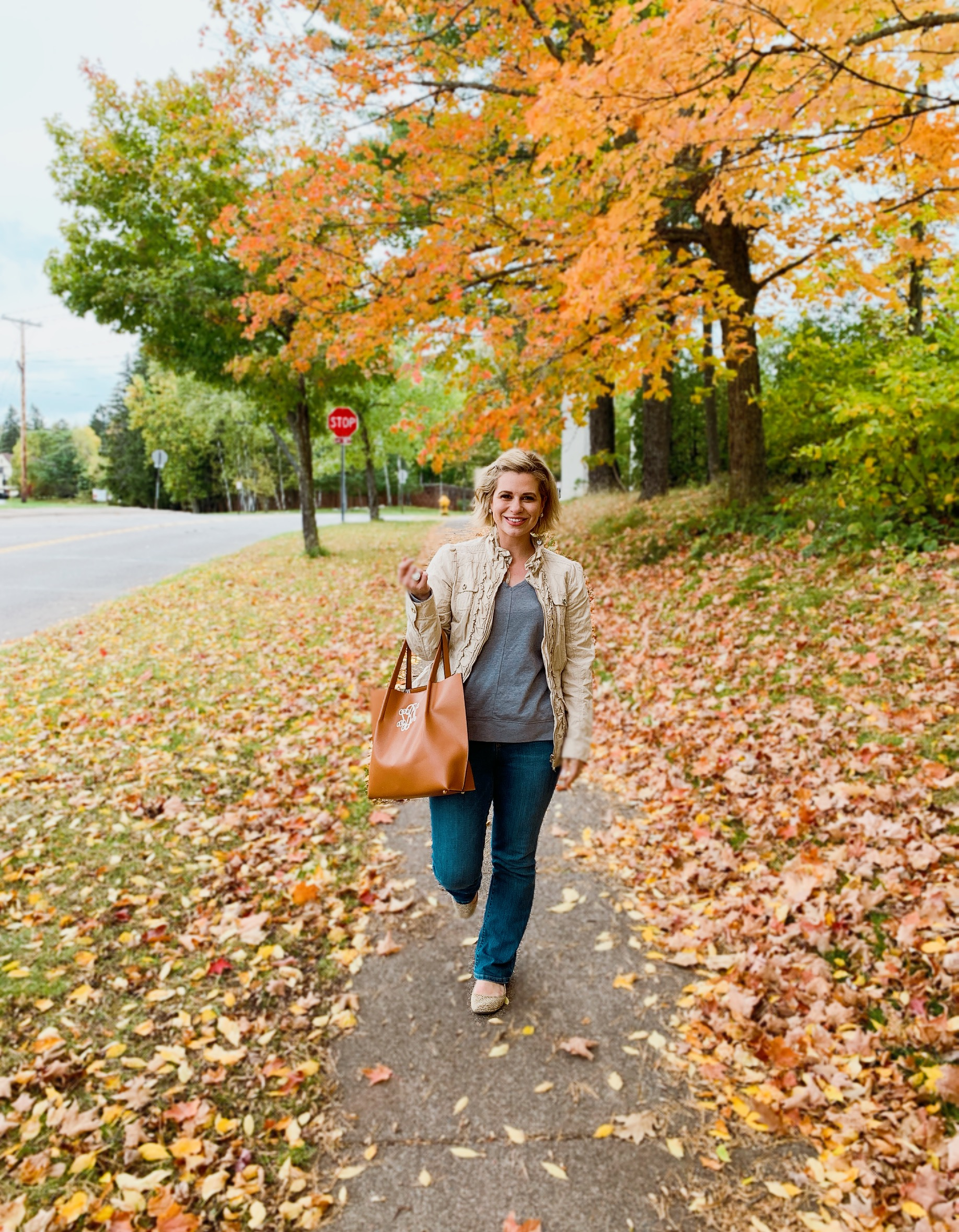 Easy casual women's style for fall and winter