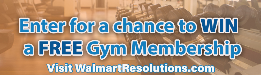 Enter to win a chance at a year long gym membership!