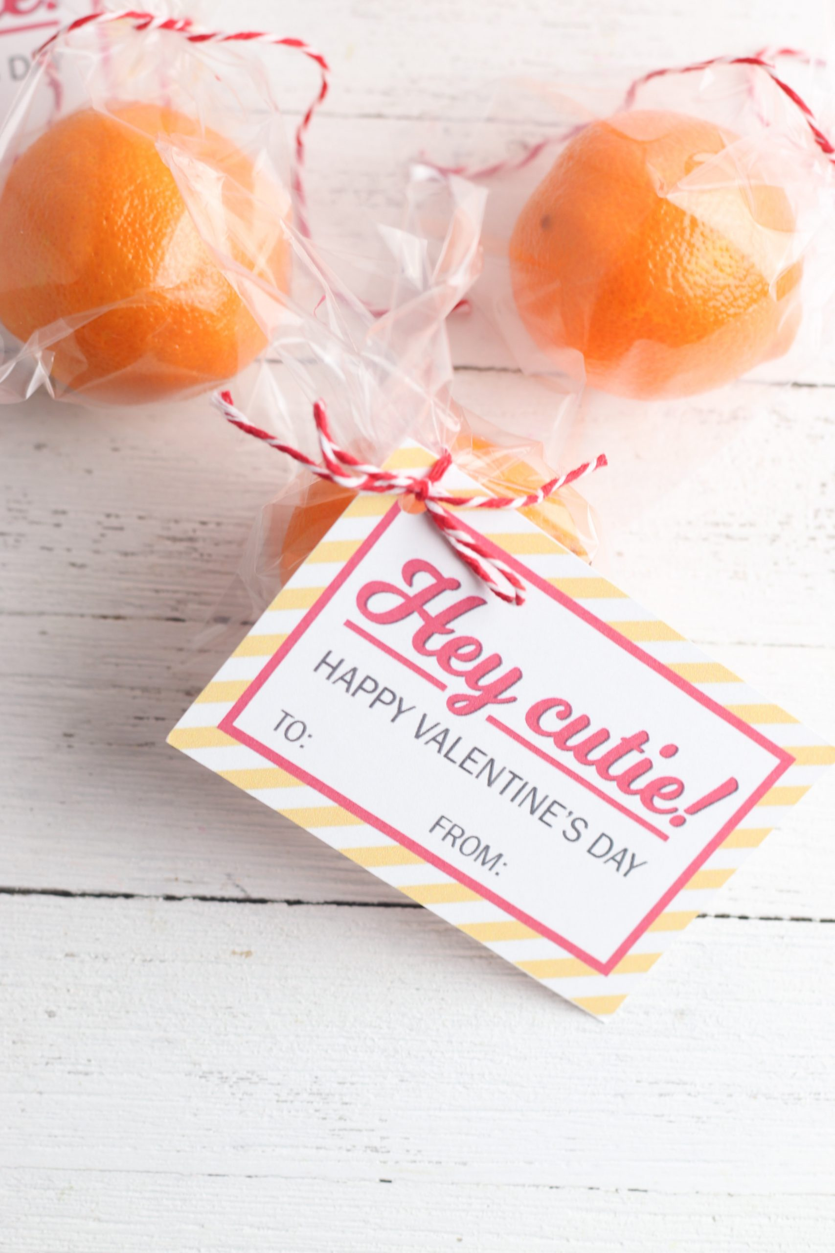 Cutie Valentine's for a candy free holiday!
