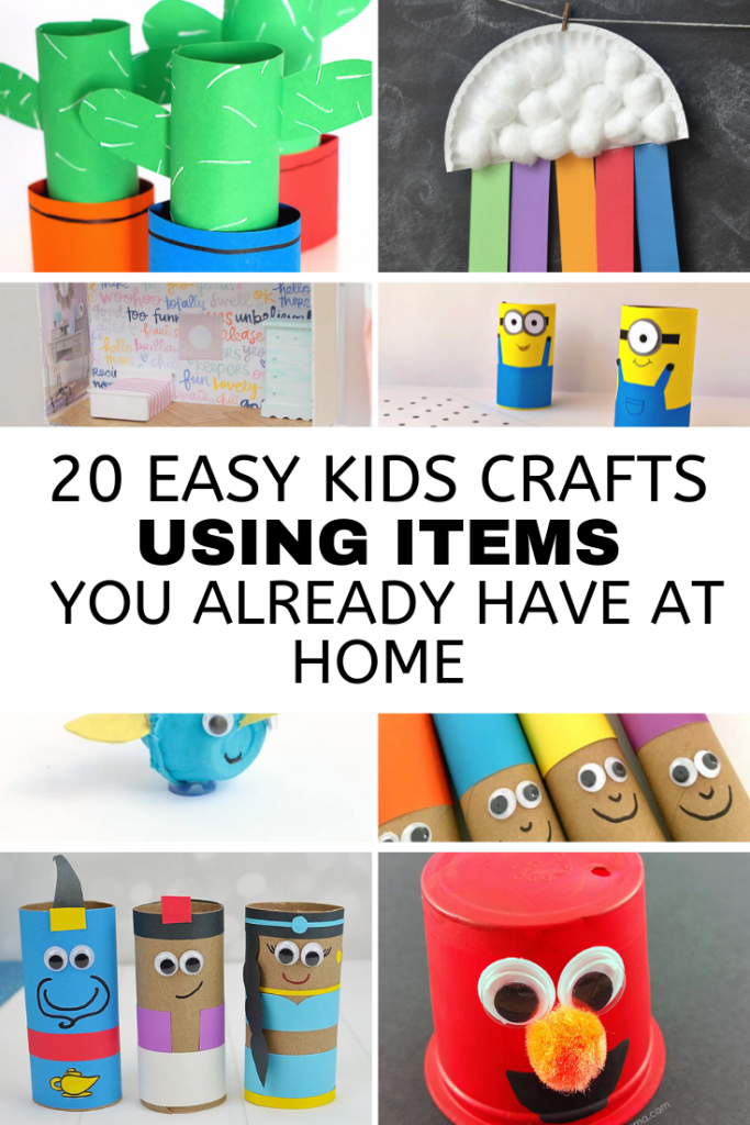 20 fun and affordable kids crafts