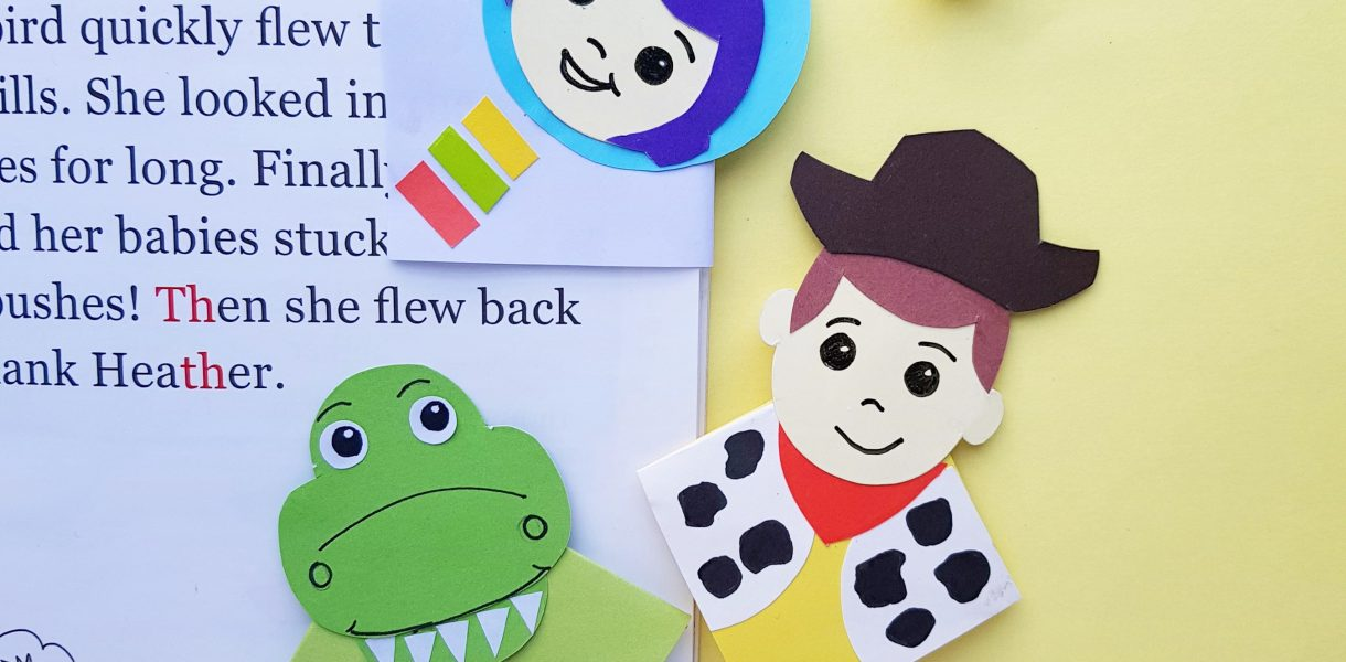 Toy Story Inspired Bookmarks