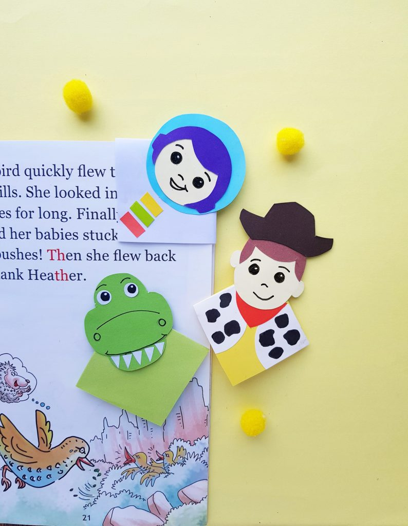 Toy story bookmarks