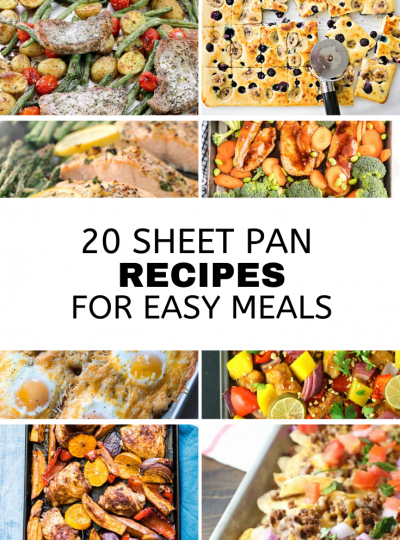 20 sheet pan recipes for easy meals