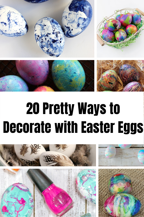 20 Pretty ways to decorate with Easter eggs