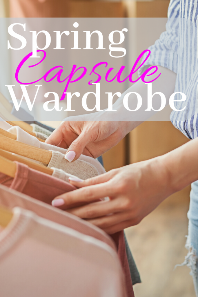 Tips for a Spring Capsule Wardrobe