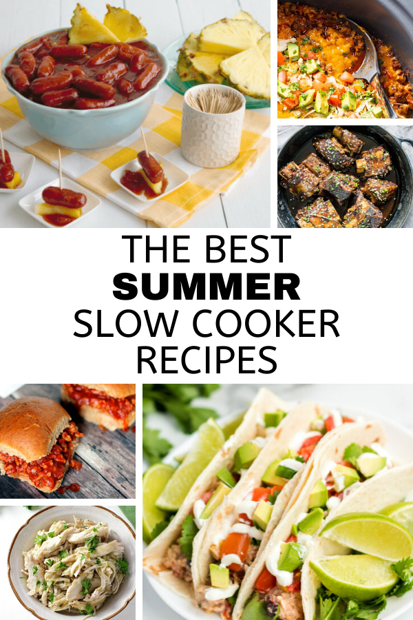 The best summer slow cooker recipes