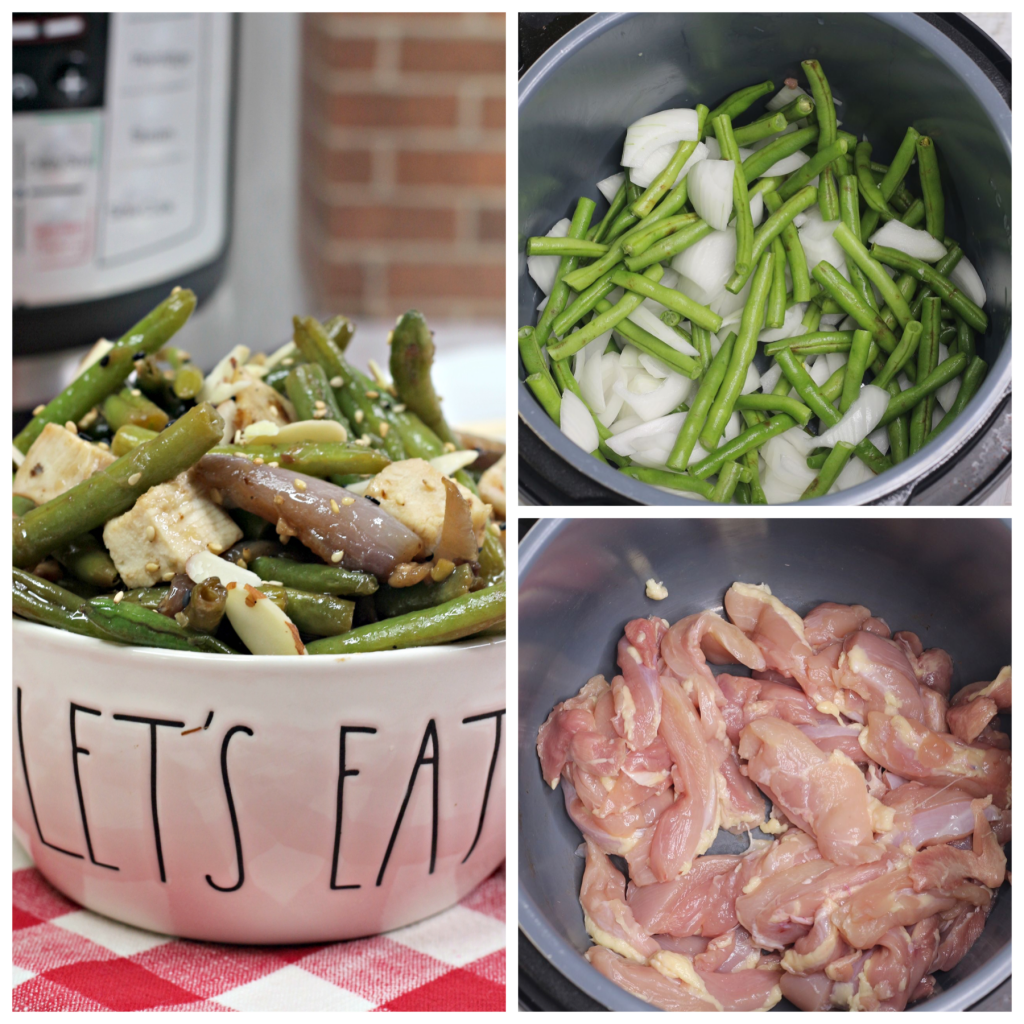 Instant Pot Chicken with Green Beans