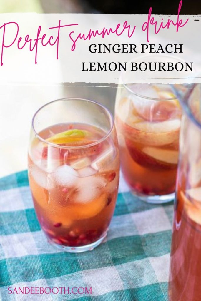 A refreshing summer cocktail