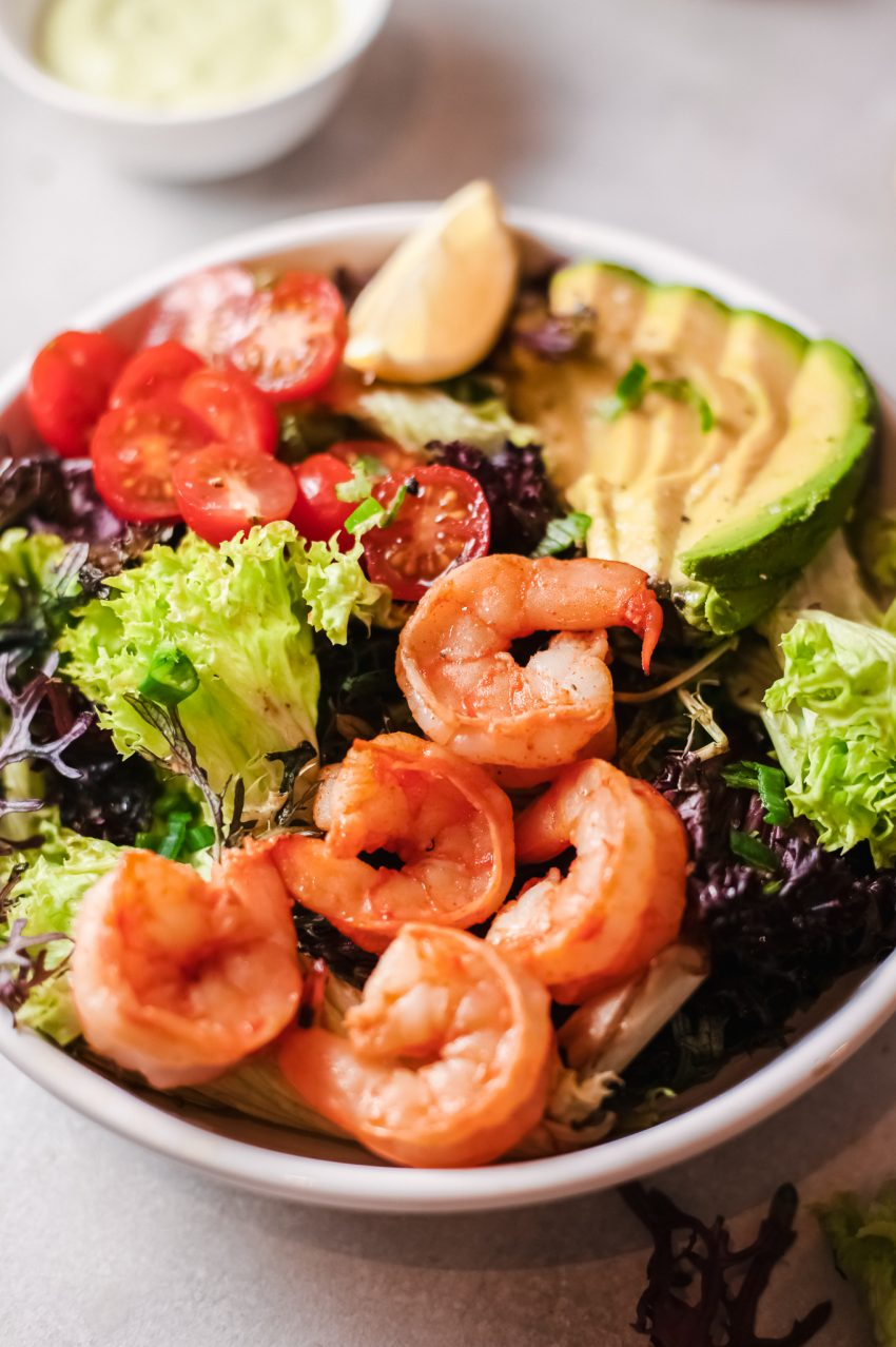 Zesty Shrimp Salad
