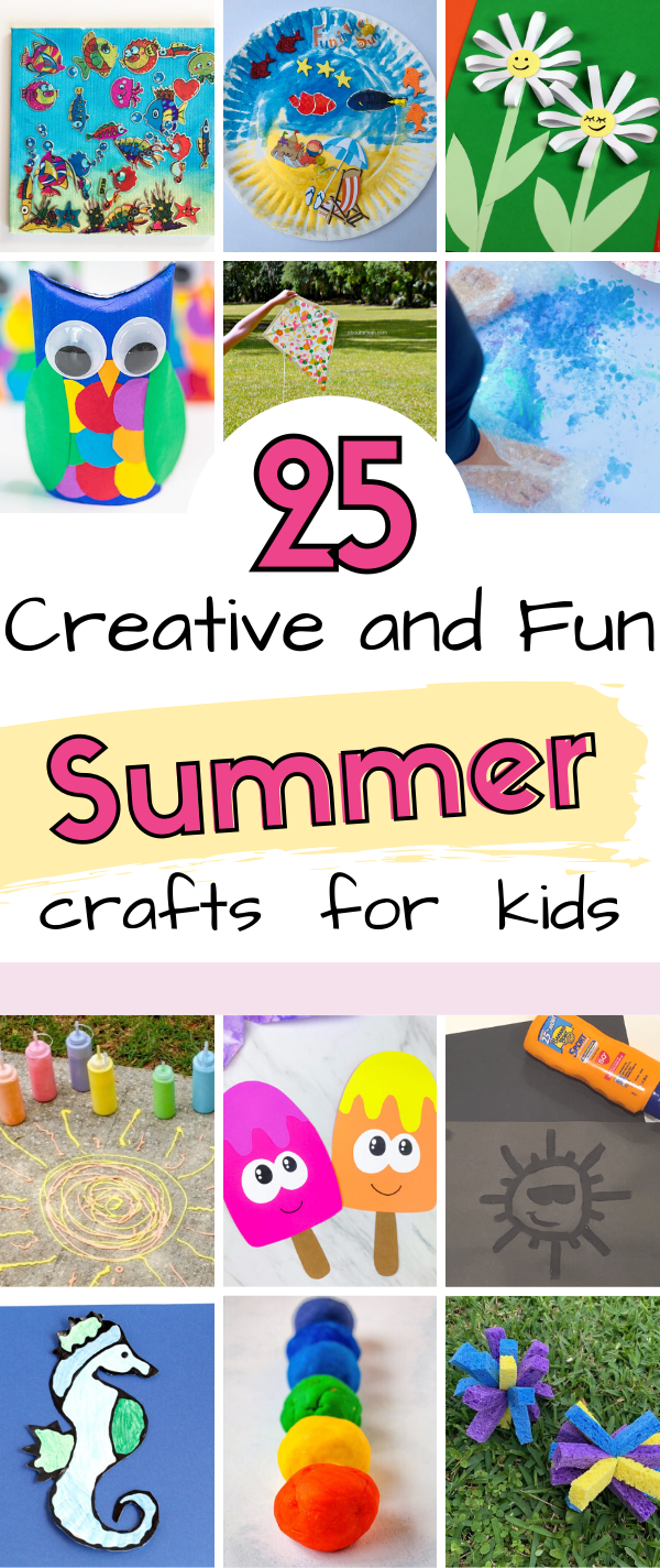 25 fun summer crafts