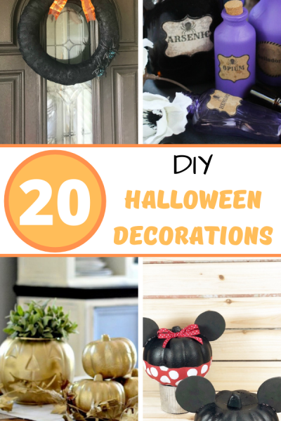 20 DIY Halloween decorations