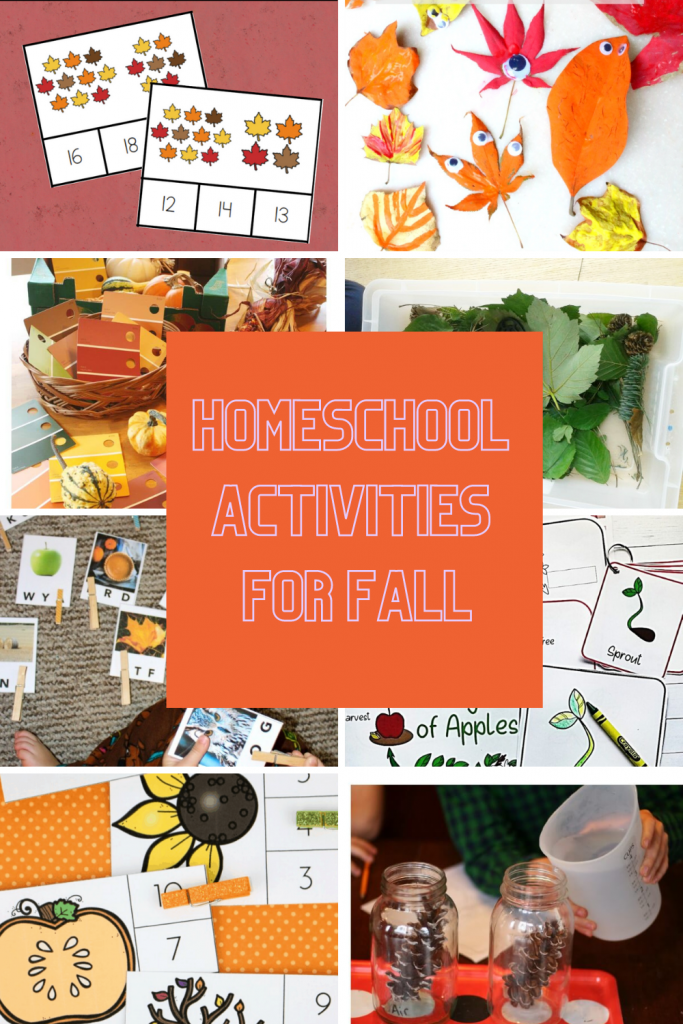 Fall Homeschool Activities