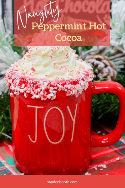 Naughty Peppermint Hot Cocoa