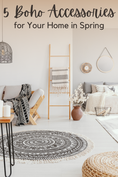 5 boho accessories for your home for spring
