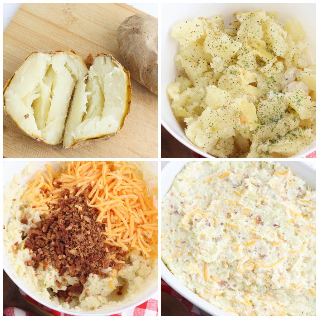 how to bake potatoes
