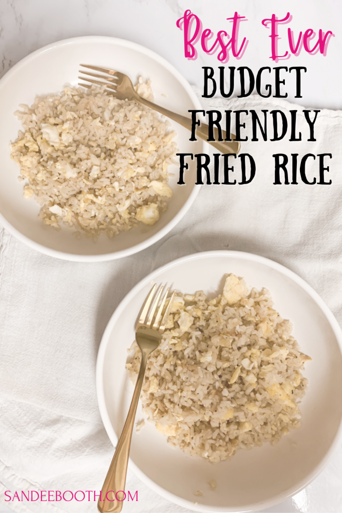 Easy to make fried rice