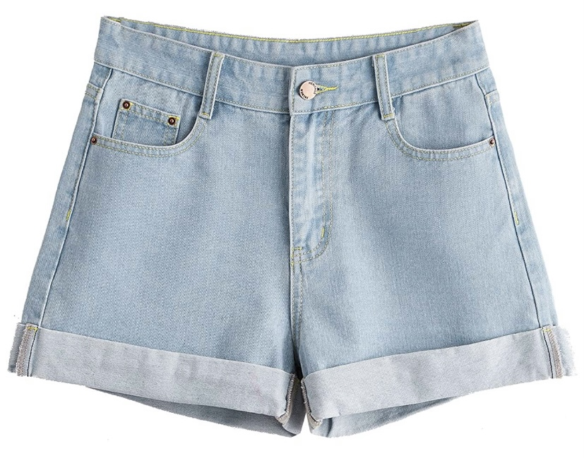 Cute summer clothes under $25 | High Waisted Jean Shorts