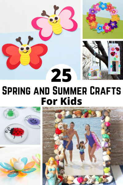 25 Fun Spring Crafts