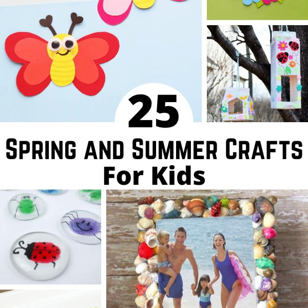 25 Fun Spring Crafts
