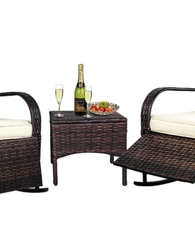 wooden Patio Furniture Sets for the Backyard