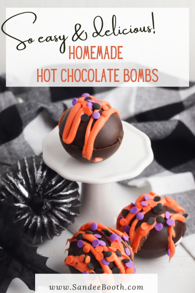 Homemade hot chocolate molds